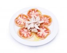 Ensalada de tomate y ventresca