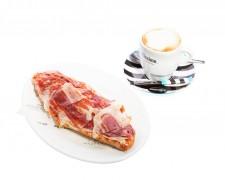 Café con Tostada Jamón Ibérico